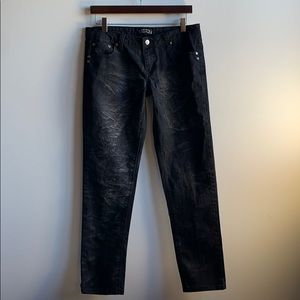Black Toxic Jeans with Smoky Effect